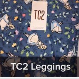 Tc2 LuLaRoe Disney leggings